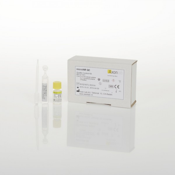 microINR® QC Quality Control Kit