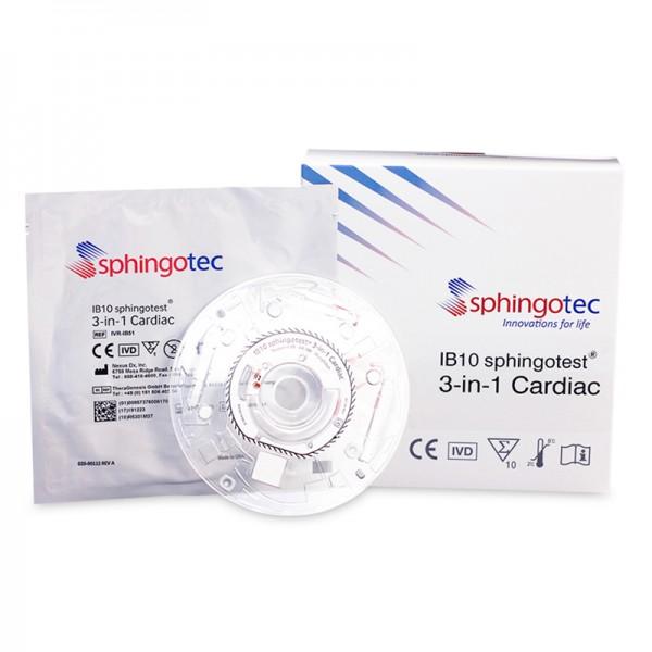 IB10 sphingotest® 3-in-1 Cardiac