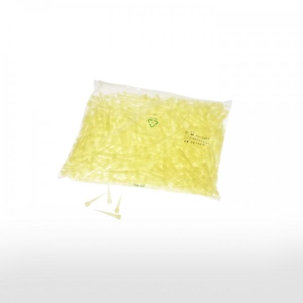 Pipettenspitzen, Gelb