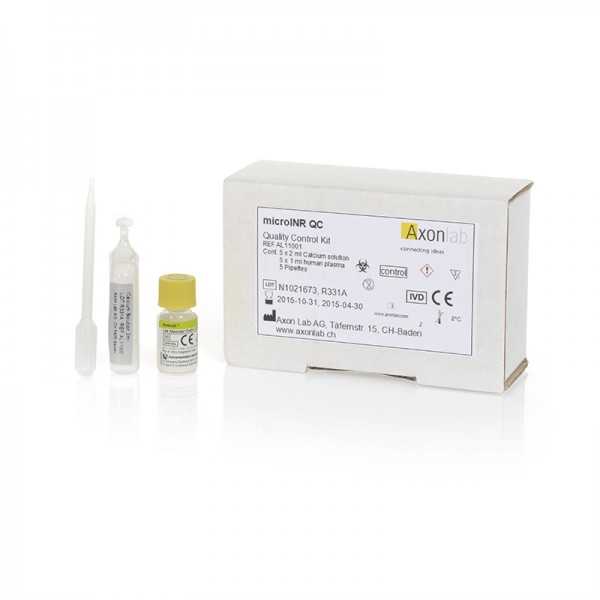 microINR® QC Quality Control Kit