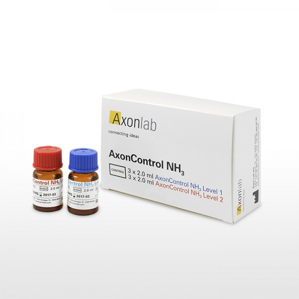 AxonControl NH3, 3 x Level 1 und 3 x Level 2