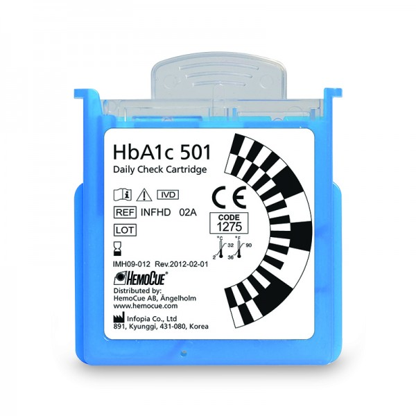 HemoCue® HbA1c 501 Daily Check Cartridge