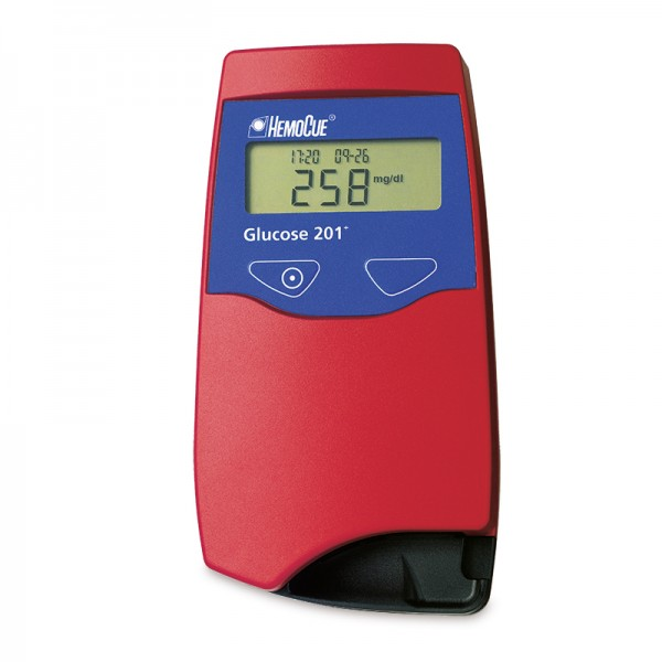 HemoCue® Glucose 201+ Analyzer (mg/dL) PE