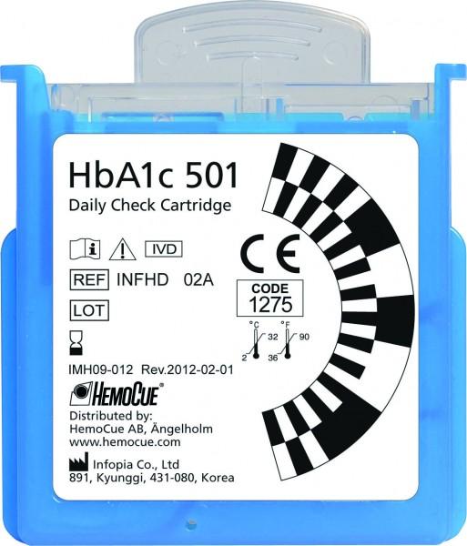 HemoCue® HbA1c 501 Daily Check Cartridge
