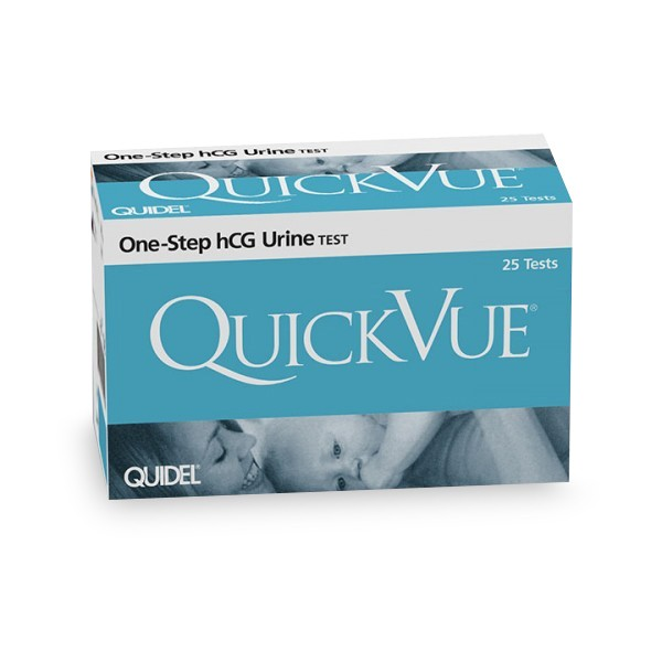QuickVue One-Step hCG Urine Test